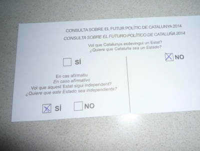 9-N Consulta popular catalana